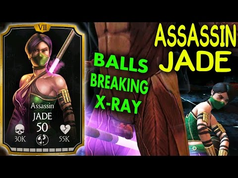 MKX Mobile 1.13 Update. ASSASSIN JADE Gameplay + Review! THE BEST PASSIVE???