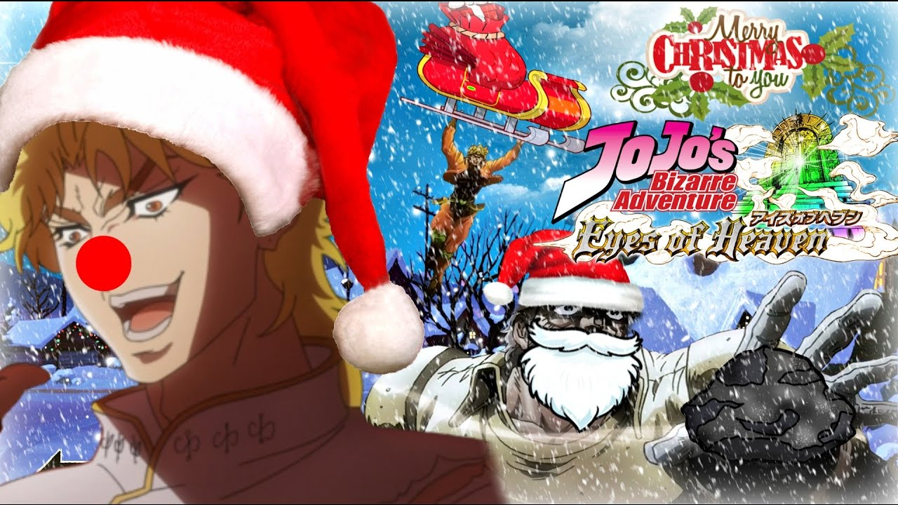 You Were Expecting a Christmas Video...But It Was I Dio! JJBA Eyes ...