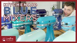 KitchenAid Mixer Colors - Blue | Ice, Aqua, Cobalt, Willow, Ocean Drive, Ink, Crystal, Twilight..