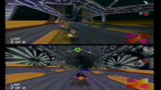 Wipeout 64 Multiplayer: Race 1