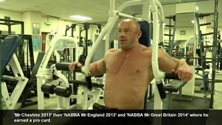 Preston's bodybuilding icon James Fleming