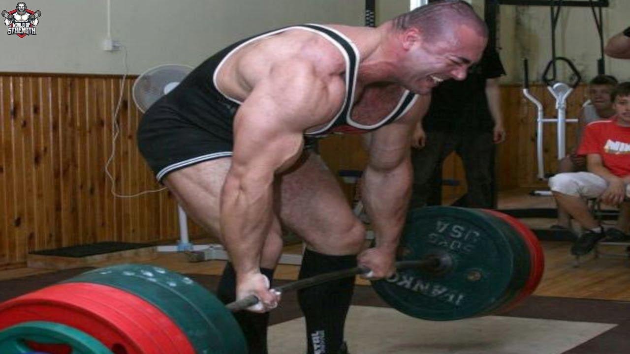 The Deadlift Legend Konstantīns Konstantinovs