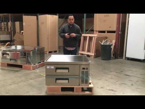 Chefs Base Refrigerator Cold Table