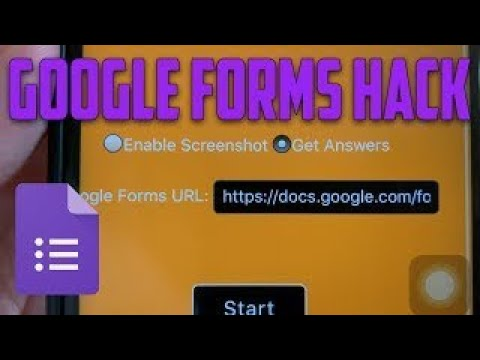 GOOGLE FORM CHEAT!!! ANSWER KEY!!!! click bait!!! - YouTube