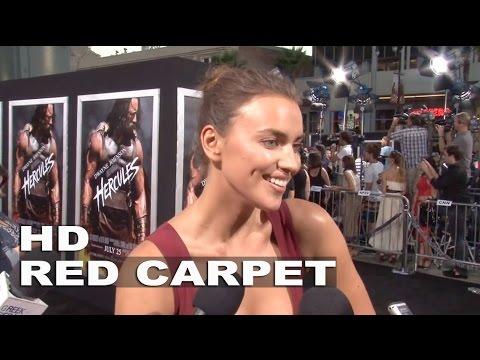 "Hercules: Irina Shayk ""Megara"" Exclusive Premiere Interview thumbnail"