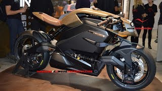 New Arc Vector Debut at EICMA 2018 | 2019 Arc Vector Electric Superbike Firts Look
