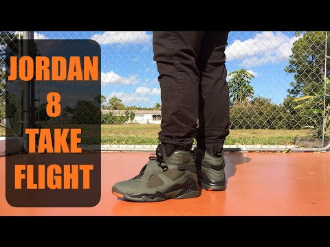 low priced 53b80 1ad19 BEST JORDAN 8 EVER?? Jordan 8 Take Flight W/ ON FEET
