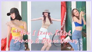 [ENG SUB] How I Learn Tiktok Dances u0026 Dance Covers | 和我一起拍抖音和翻跳影片吧 | Jestinna