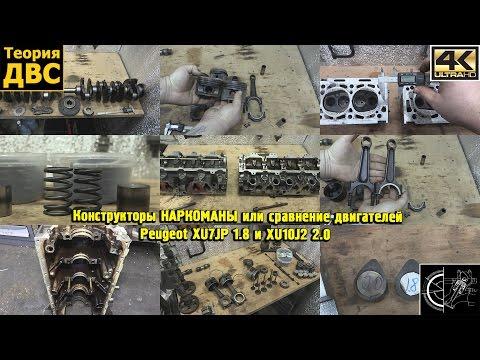 Фото к видео: Конструкторы НАРКОМАНЫ или сравнение двигателей Peugeot XU7JP 1.8 и XU10J2 2.0