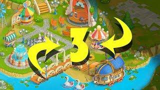 Puzzle Heart | Match-3 Adventure | #3 | Amusement Park
