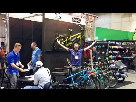 Benno Bikes Updates from Interbike: Boost, eJoy, eScout, Ebike Accessories #AD