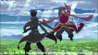 sword art online opening 2 full letra