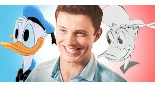 Drawing Disney Characters With NO REFERENCE