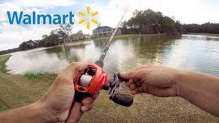 CHEAP Lure Fishing Challenge (Walmart)