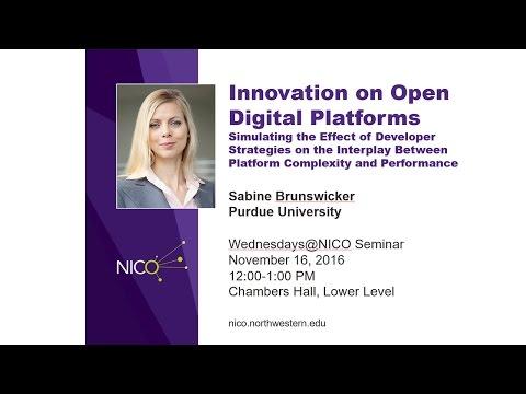 Sabine Brunswicker, Wednesdays@NICO, 11/16/16