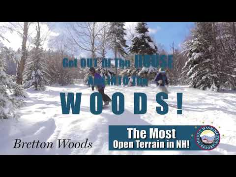 Day at The Woods-100% Open and More Snow!