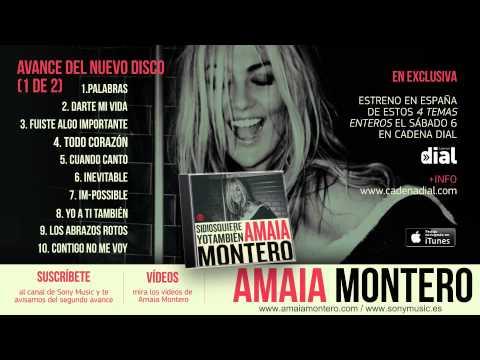 Amaia Montero - Avance Del Nuevo Disco (1 De 2)