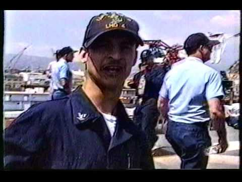 USS Boxer Year in Review 1996 (LHD-4 - San Diego homeport)