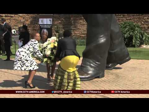 South Africa observes first death anniversary of Mandela