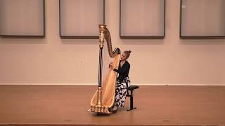 J.S.Bach: Prelude and Fugue No. 5 in D major, BWV 850 - Miriam Ruf, Harp