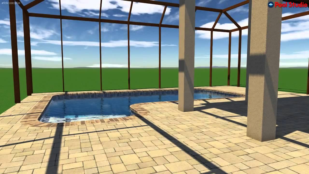 pool studio 3d swimming pool design software youtube