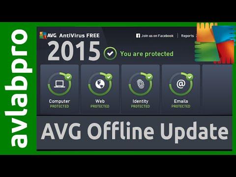 AVG 2015 Offline Update