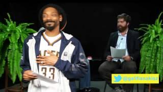 Snoop Lion Message to Zach Galifianakisz