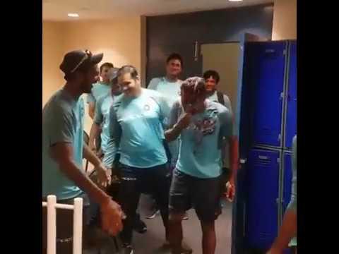 Bhuvaneshwar Kumar Birthday celebration with Players