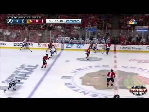 Chicago Blackhawks vs Tampa Bay Lightning SCF Game 6 Highlights