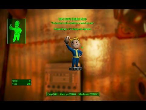 Explosive Bobblehead - Saugus Ironworks - Fallout 4