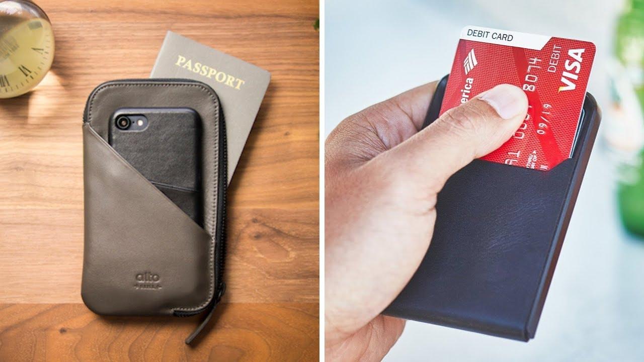 d1cd47f7116f Best Minimalist Men s Wallets You Must Try - YouTube