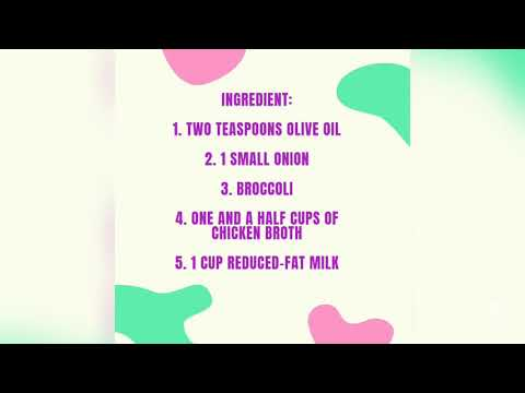 How To Make Creamy Broccoli Soup For Toddlers