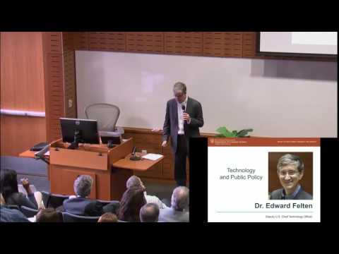 UTCS 50 Keynote: Dr. Edward Felten - Technology and Public Policy