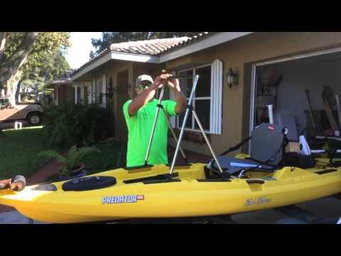 Kayak Lean Post. By Www.KayakMotorCompany.com