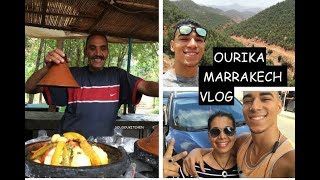 Ourika  Marrakech Travel Vlog 2017 جولة في  اوريكا مراكش،المغرب