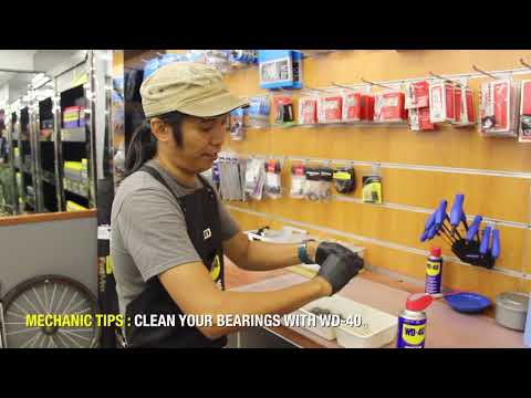 Clean your Bearings with WD-40   Pro Tips 3