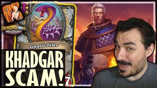 KHADGAR SCAM IS STILL HERE! - Hearthstone Battlegrounds