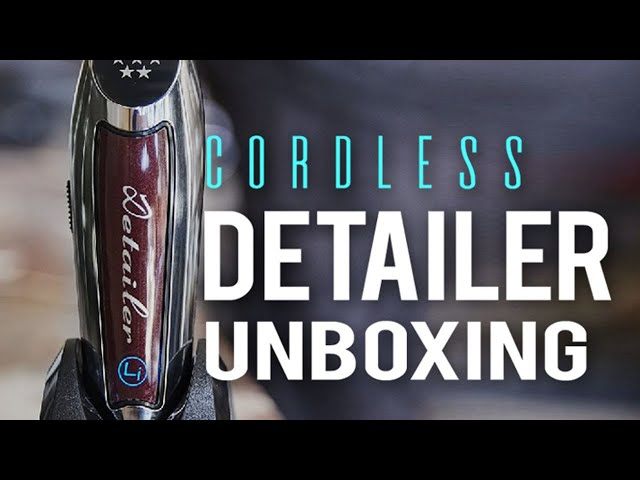Unboxing Wahl Cordless Detailer Li