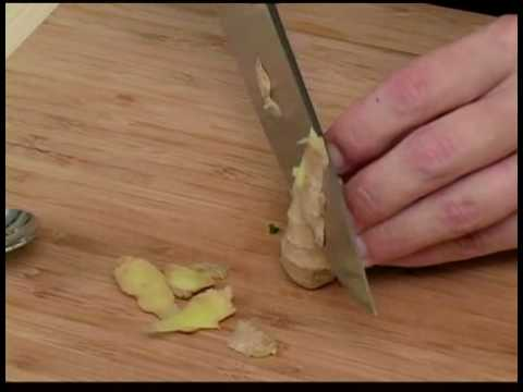 Cooking Tips : How to Clean Ginger Root