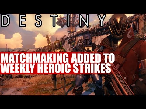 weekly heroic strike destiny matchmaking