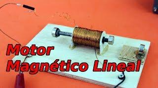 Motor Eléctrico Lineal Magnético