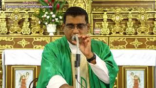 Daily Mass in English - 28th September - Fr. Manuel Dias - Sanctuary of St  Joseph Vaz, Sancoale.