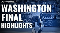 Nick Kyrgios Defeats Daniil Medvedev for Title | Washington 2019 Final Highlights