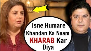 Farah Khan's UNBELIEVABLE Reaction To Brother Sajid Khan CONTROVERSY | #MeToo