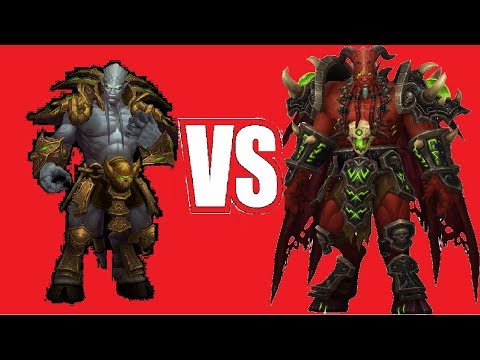 [Warcraft III]Архимонд VS Кил'джеден по игромеху