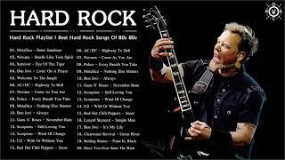 Hard Rock Playlist   Best Hard Rock Songs Of 80s 90s