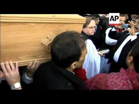 Funeral of veteran Bollywood actor, director and producer