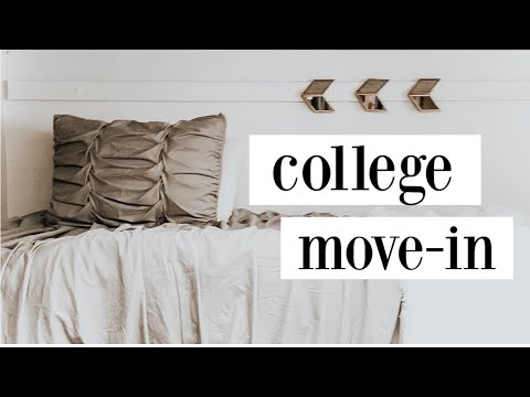 COLLEGE MOVE IN DAY VLOG 2017 | UGA DORM
