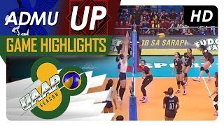 UAAP 80 WV: ADMU vs. UP | Game Highlights | February 25, 2018