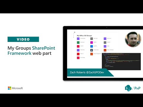 Community demo - Building My Groups web part with SharePoint Framework and Microsoft Graph thumbnail